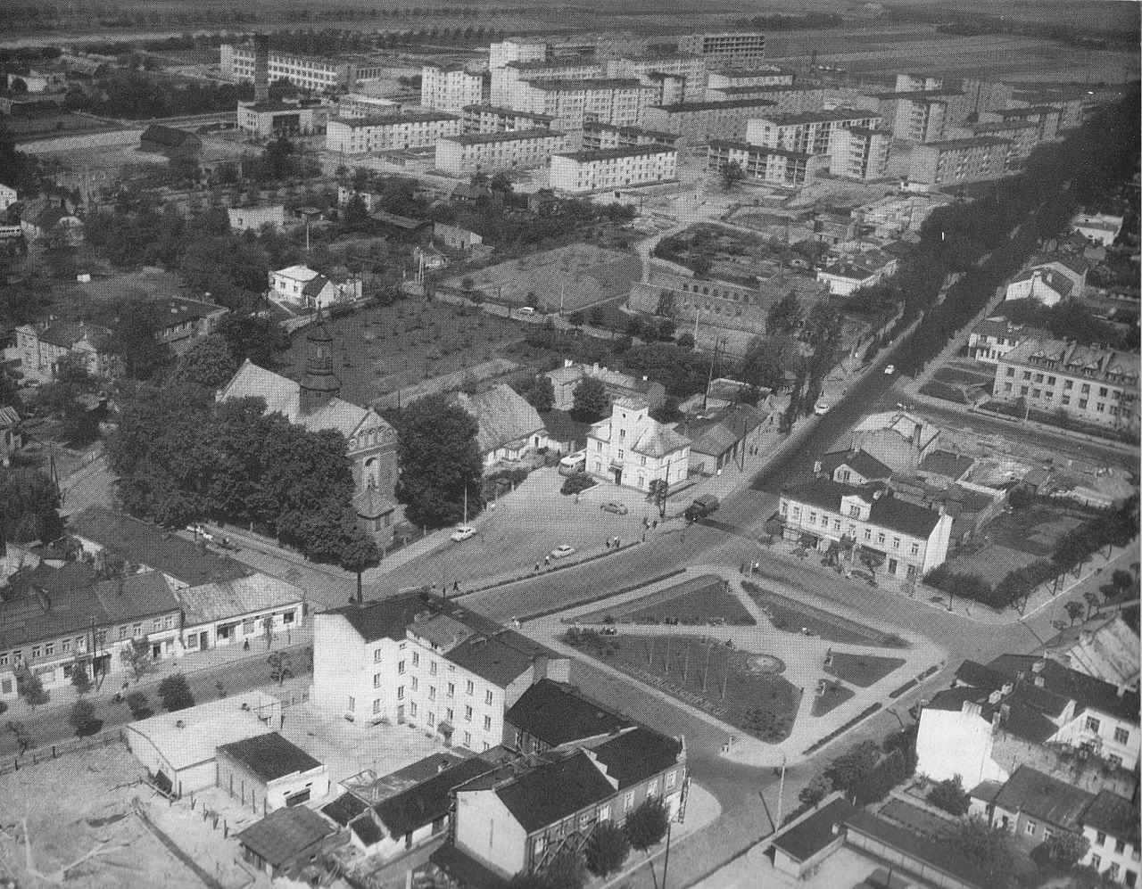 Historia Służby Geodezyjnej i Kartograficznej w powiecie piaseczyńskim